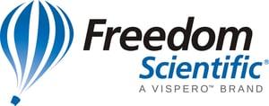 Freedom Scientific Logo - A Vispero Brand